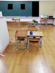 小学2年-9月(学校での付添い開始、運動会 等)